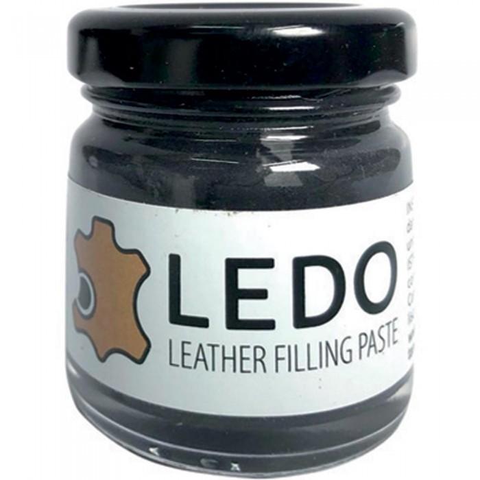 LEDO filling paste for leather Black