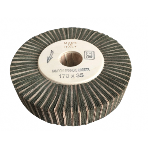 Buffing Wheel Leather-Cloth 35-50-70-80-100mm