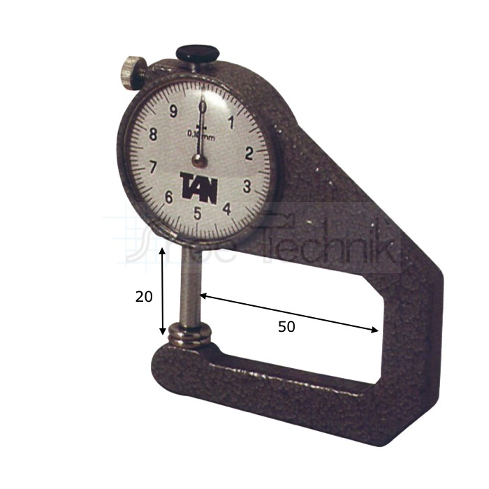 Thickness Gauge 20x50